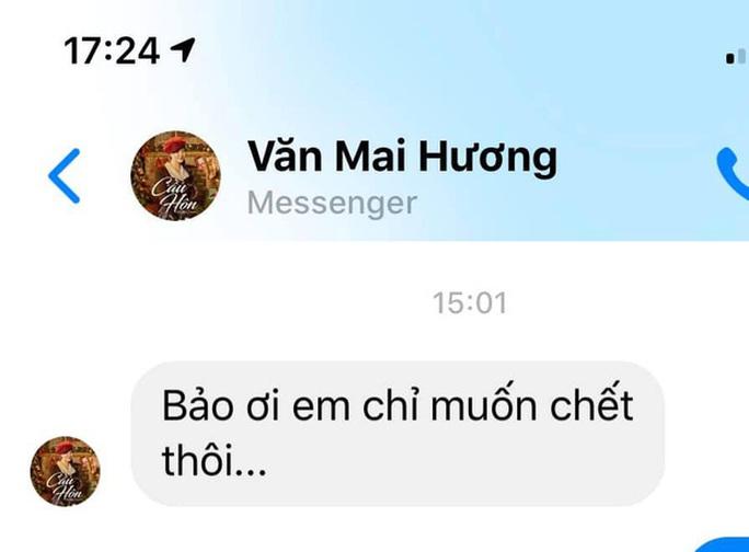 Lộ clip nhạy cảm, Văn Mai Hương chỉ muốn chết - Ảnh 3.