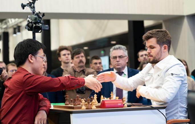 Lê Quang Liêm lỡ cơ hội tranh huy chương cờ nhanh thế giới - Ảnh 1.