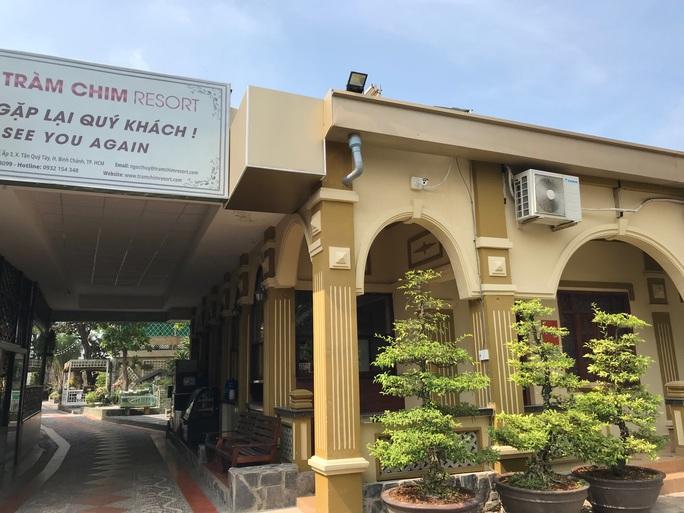 Ngày 7-1-2020 sẽ cưỡng chế Gia Trang quán - Tràm Chim Resort - Ảnh 1.