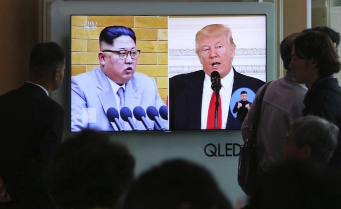 Triều Tiên im lặng trước cơn bão - Ảnh 1.