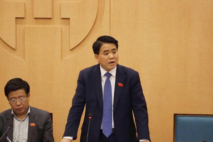 Ông Nguyễn Đức Chung lên tiếng về một loạt vấn đề nóng của Hà Nội - Ảnh 1.