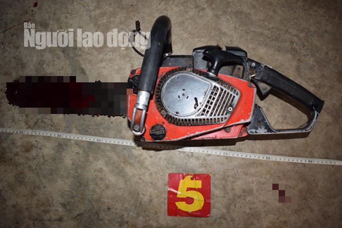 Nghi vấn mâu thuẫn với vợ, chồng dùng máy cưa tự sát - Ảnh 1.
