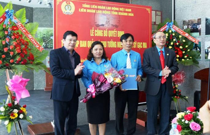 Khánh Hòa: Thành lập BQL Khu tưởng niệm chiến sĩ Gạc Ma - Ảnh 1.