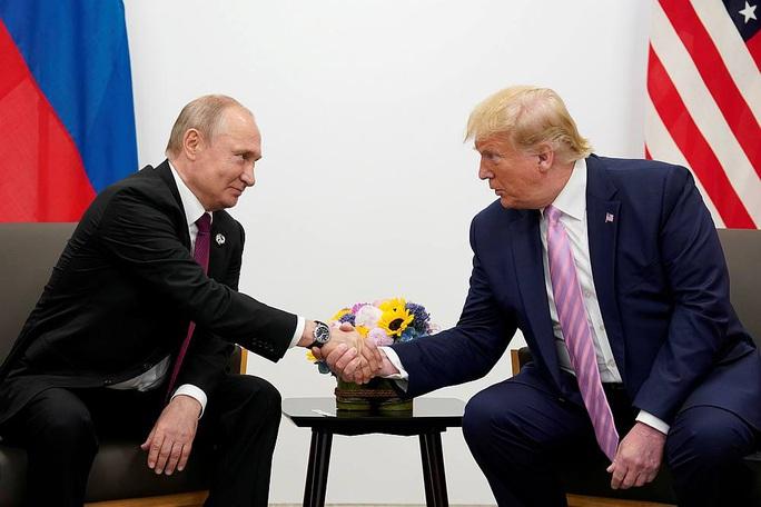 Tổng thống Putin điện đàm, cảm ơn Tổng thống Trump - Ảnh 1.