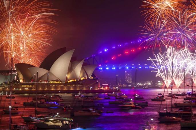 Úc vẫn rực rỡ pháo hoa mừng năm mới 2020 - Ảnh 12.