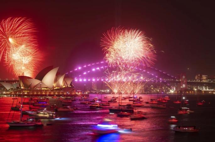 Úc vẫn rực rỡ pháo hoa mừng năm mới 2020 - Ảnh 6.