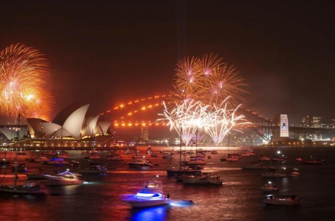 Úc vẫn rực rỡ pháo hoa mừng năm mới 2020 - Ảnh 5.