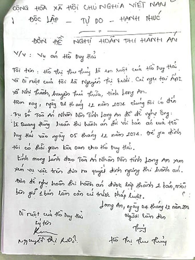 Phút 89 của tử tù Hồ Duy Hải: Án mạng rúng động vùng quê - Ảnh 2.