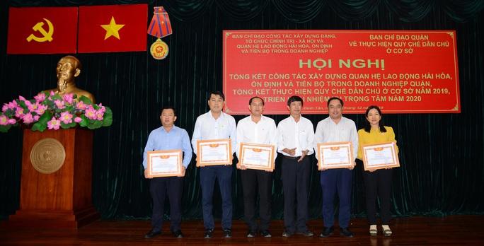 Quận Bình Tân, TP HCM: 95% doanh nghiệp có thỏa ước lao động tập thể - Ảnh 1.