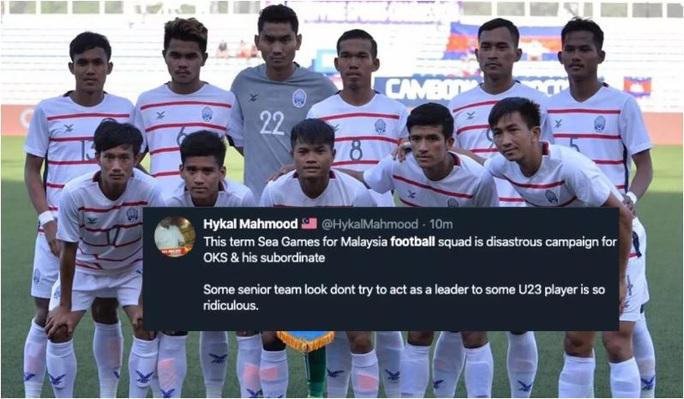 CLIP: Khoảnh khắc Campuchia đá bại Malaysia, hẹn đấu Việt Nam ở bán kết! - Ảnh 2.