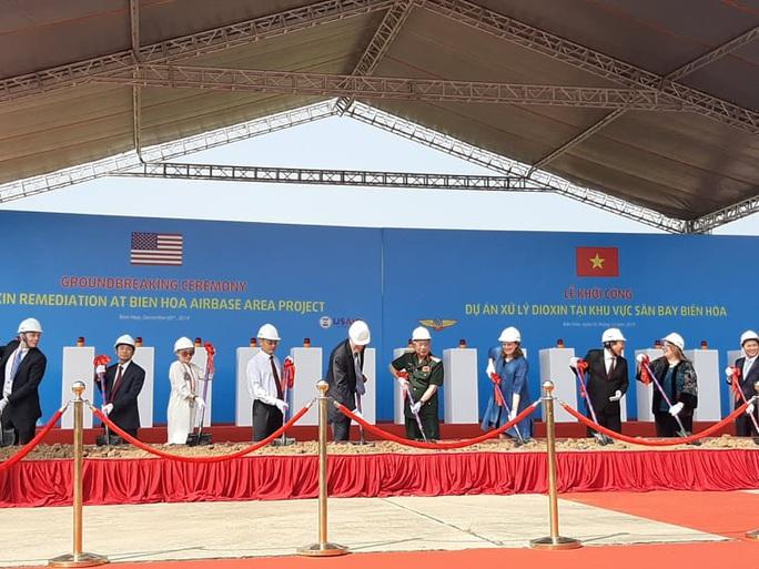 Dự án xử lý dioxin tại Sân bay Biên Hòa chính thức khởi công - Ảnh 3.