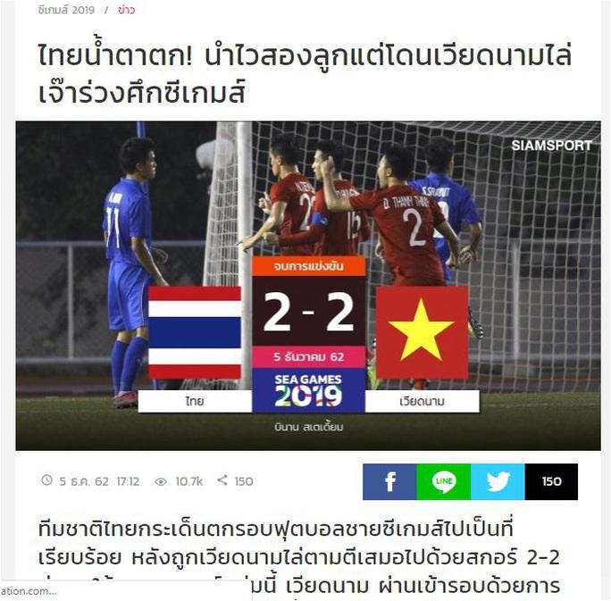Báo Thái đau xót trước thất bại của Thái Lan tại SEA Games 30 - Ảnh 1.