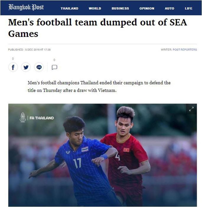 Báo Thái đau xót trước thất bại của Thái Lan tại SEA Games 30 - Ảnh 3.