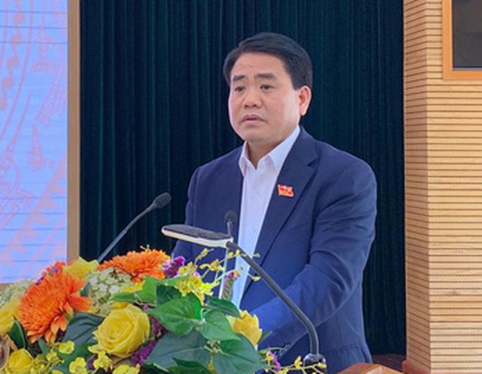 Chủ tịch Hà Nội Nguyễn Đức Chung: Không để cho một ông, một công ty vào đây làm trò đùa cho thiên hạ - Ảnh 1.