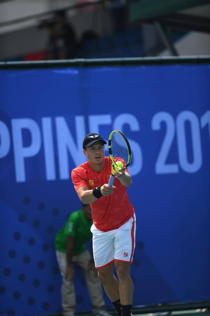 Vượt qua đồng đội, Lý Hoàng Nam vô địch SEA Games 30 - Ảnh 1.