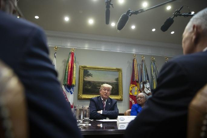 """Tổng thống Donald Trump vật lộn với vấn nạn """"mang tầm cỡ quốc gia"""" - Ảnh 1."""