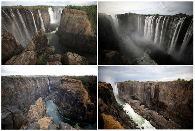 Hạn hán kinh hoàng, thác nước cao 100 mét gần cạn khô - Ảnh 1.