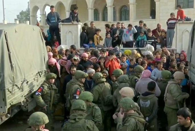 Nga đổ quân vào thành trì cũ của IS sau khi Mỹ rút lui - Ảnh 1.
