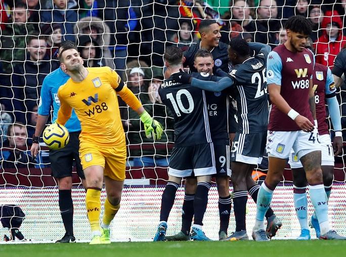 Mở đại tiệc Villa Park, Leicester thắng trận thứ 8 Ngoại hạng Anh - Ảnh 8.