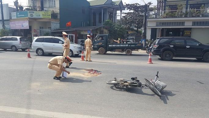 Va chạm giao thông, một học sinh tử vong - Ảnh 1.