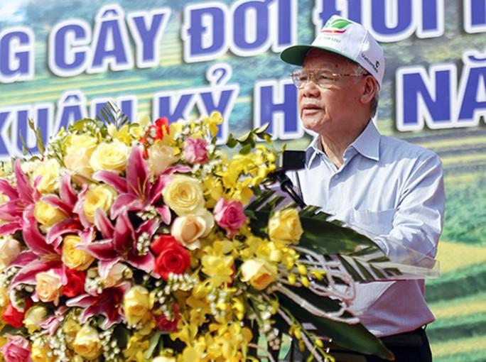 Tổng Bí thư, Chủ tịch nước phát động Tết trồng cây - Ảnh 3.
