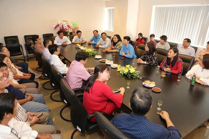 Chủ tịch LĐLĐ TP HCM chúc Tết Báo Người Lao Động - Ảnh 3.