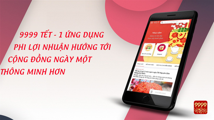 App miễn phí 9999 Tết: Một ứng dụng triệu niềm vui - Ảnh 2.