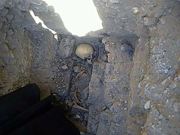 Thiếu nữ bí ẩn nằm bên đôi bò mộng trong mộ cổ Ai Cập - Ảnh 1.