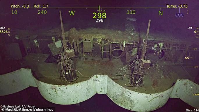 Tìm thấy tàu sân bay Mỹ lừng danh chìm cách đây 77 năm - Ảnh 3.
