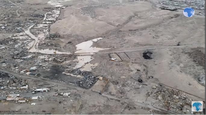 Sa mạc khô nhất thế giới… ngập lụt - Ảnh 2.