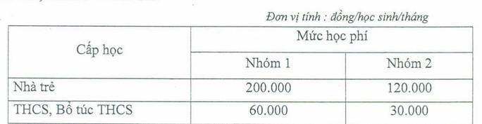 TP HCM: Bắt đầu điều chỉnh giảm học phí - Ảnh 1.