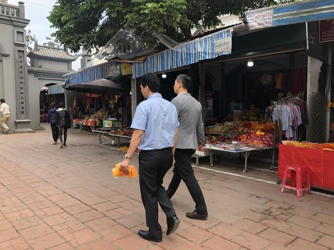 Kiểm tra an toàn thực phẩm tại đền Trần trước lễ khai ấn - Ảnh 15.