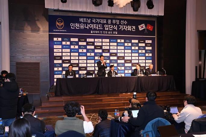 HLV Park Hang-seo đến chúc mừng Công Phượng ra mắt CLB Incheon United - Ảnh 4.