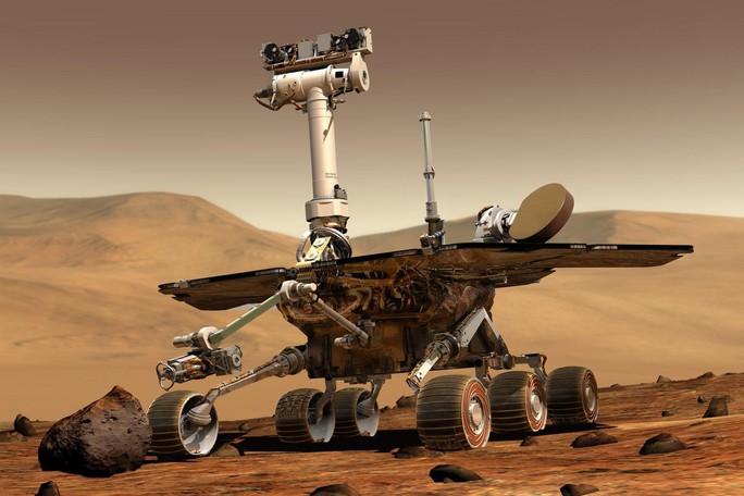 """Tàu thăm dò của NASA chết"""" trên sao Hỏa vì bão cát kinh hoàng - Ảnh 1."""