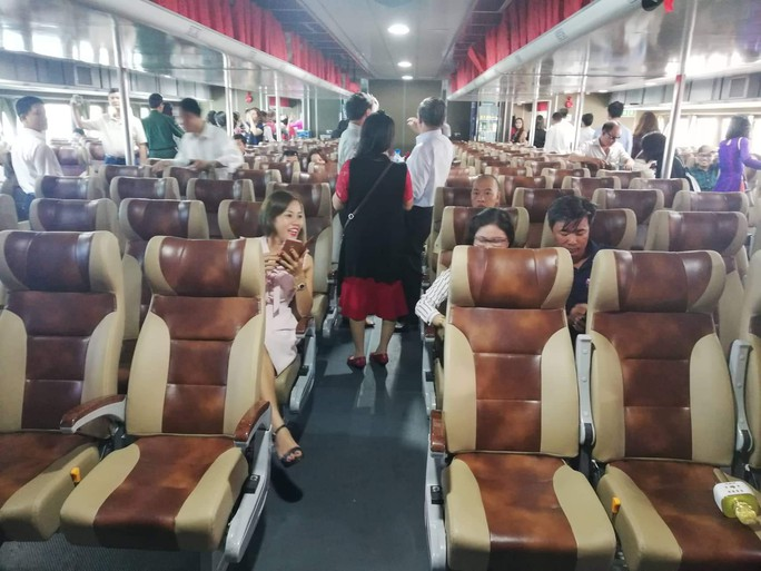 Đưa tàu cao tốc 2 thân vào hoạt động tuyến Vũng Tàu -Côn Đảo - Ảnh 2.