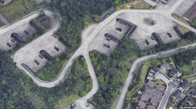 Google Maps vô tình làm lộ bí mật quân sự của Đài Loan - Ảnh 1.