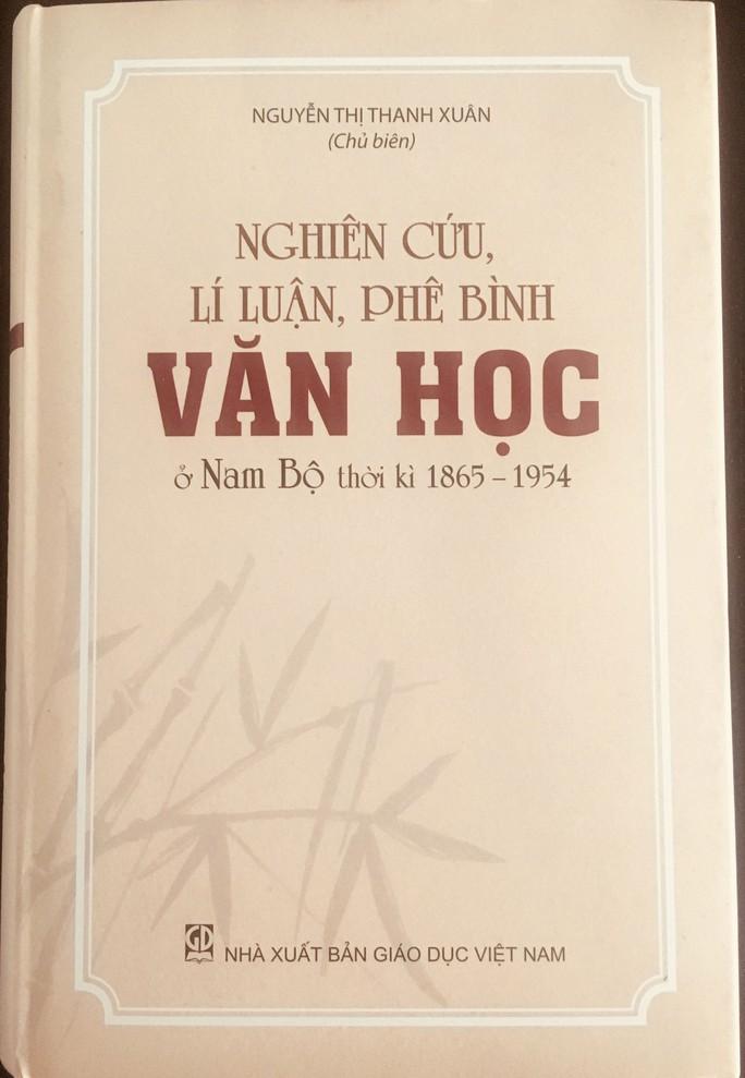 Soi rọi thêm giá trị văn học quốc ngữ Nam Bộ - Ảnh 1.
