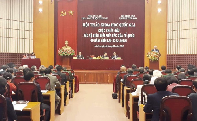 Sự thật lịch sử và chính nghĩa của Việt Nam trong cuộc chiến đấu bảo vệ biên giới phía Bắc - Ảnh 1.