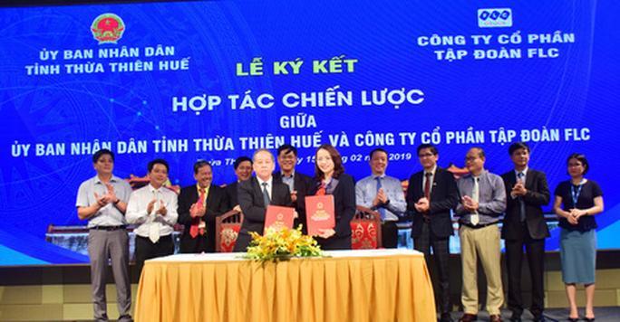 Thừa Thiên – Huế ký kết hợp tác chiến lược với nhiều doanh nghiệp lớn - Ảnh 2.