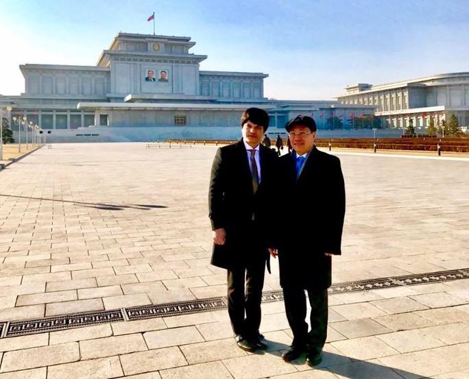 Đại sứ Việt Nam tại Triều Tiên chúc mừng sinh nhật Tổng Bí thư Kim Jong Il - Ảnh 3.