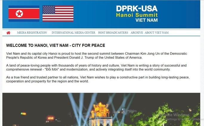 Lập trung tâm báo chí cho thượng đỉnh Mỹ-Triều tại Cung văn hóa hữu nghị - Ảnh 1.