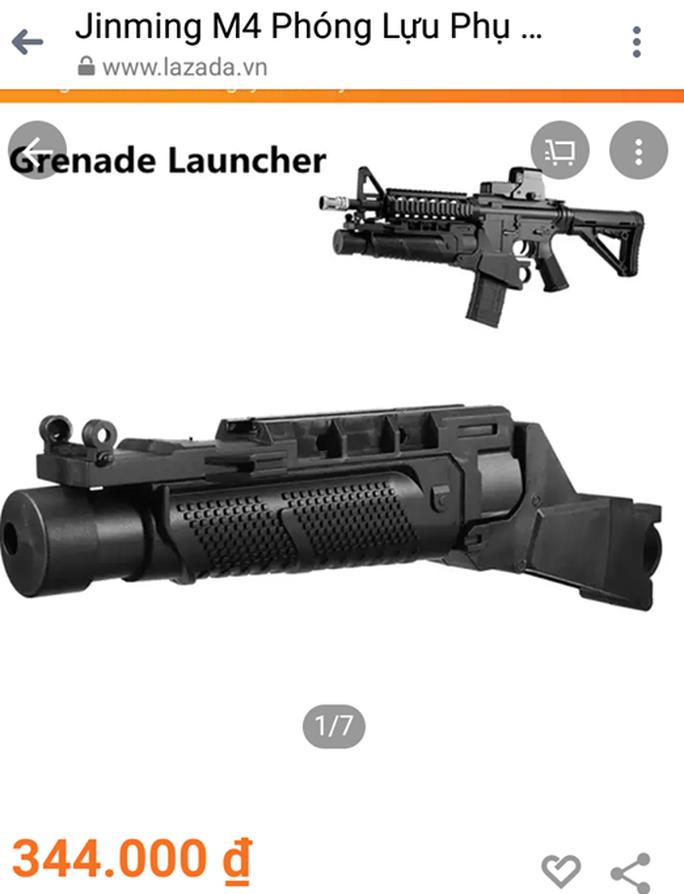 Lazada ngang nhiên rao bán thiết bị lắp ráp súng bắn bi gây sát thương - Ảnh 3.