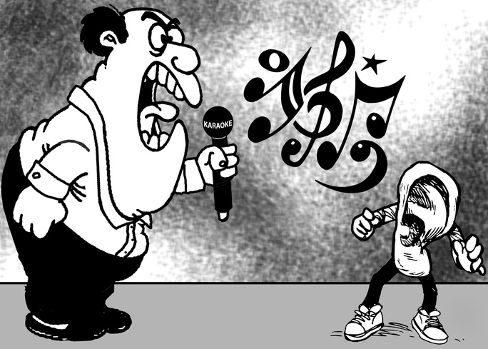 Tiếng ồn karaoke : Lẽ nào bó tay! - Ảnh 1.