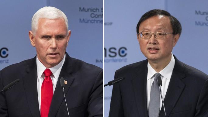 Hội nghị An ninh Munich: Mỹ - Trung đấu khẩu về biển Đông, Huawei - Ảnh 1.