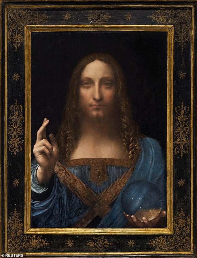 Lại nghi ngờ bức tranh Đấng cứu thế không phải của Leonardo da Vinci - Ảnh 1.