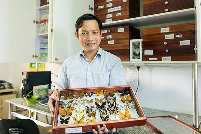 Nhà khoa học Đại học Duy Tân phát hiện loài chuồn chuồn kim mới ở Tây Nguyên - Ảnh 2.