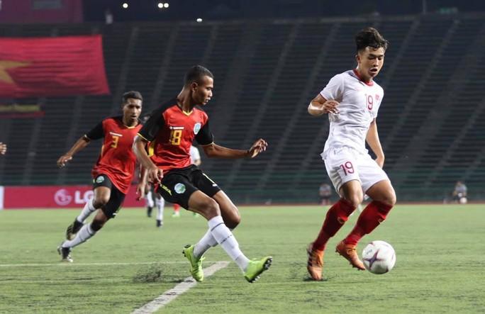 Thắng Timor Leste 4-0, U22 Việt Nam vào bán kết giải U22 Đông Nam Á - Ảnh 3.