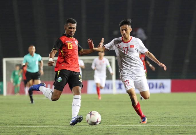 Thắng Timor Leste 4-0, U22 Việt Nam vào bán kết giải U22 Đông Nam Á - Ảnh 2.