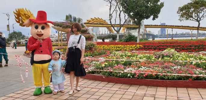 Cầu Vàng rực rỡ tại đường hoa Đà Nẵng - Ảnh 9.