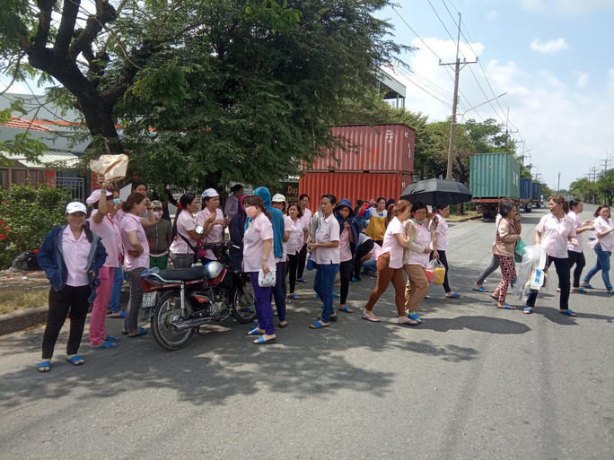 Công ty TNHH Lecien Việt Nam: Tiền lương không rõ ràng, hàng trăm công nhân ngừng việc - Ảnh 1.